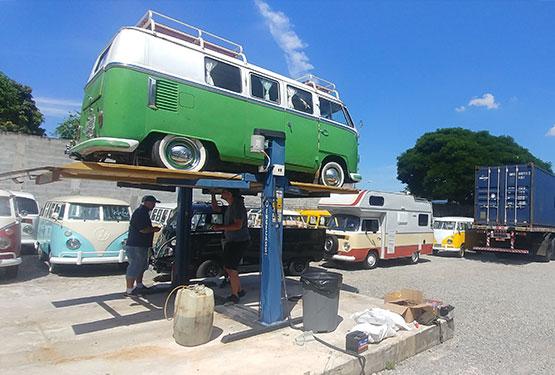 Boarding - Logistic - Kombi Brazil